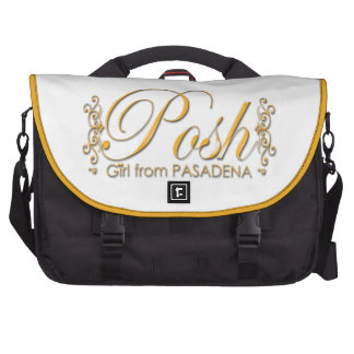 Posh Girl From PASADENA Computer Bag