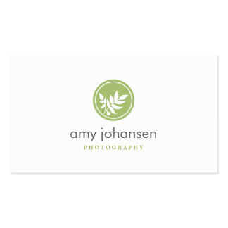 Posh Leaves Business Card Business Card Templates