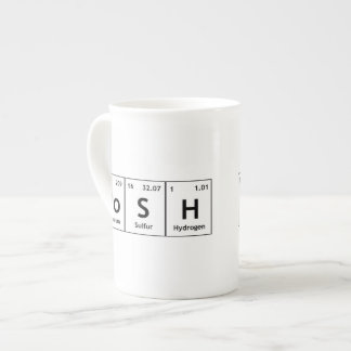 PoSH Periodic Table Elements Word Chemistry Symbol Tea Cup