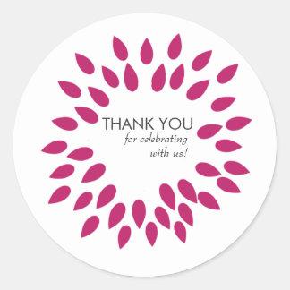 Posh Petals Vivacious Customizable Sticker