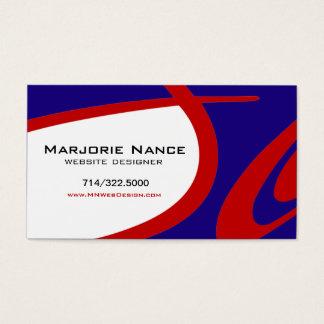 Posh Popp - Website Designer Business Card