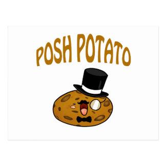 Posh Potato Postcard