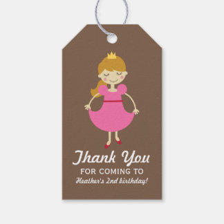Posh Princess Pack Of Gift Tags