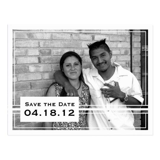 Posh Save the Date Photo Card