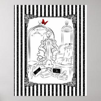Posh Wardrobe Poster