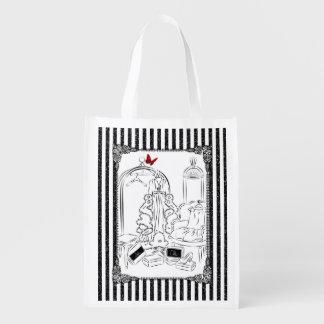 Posh Wardrobe Reusable Grocery Bags