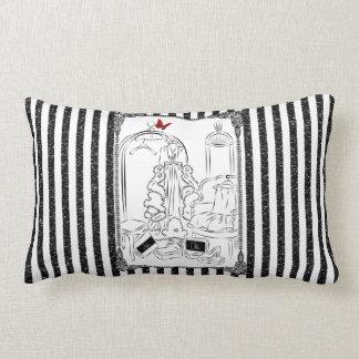 Posh Wardrobe Striped Room Lumbar Pillow