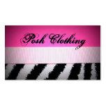 Posh Zebra Business Cards