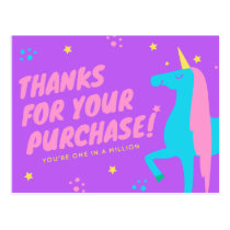 Poshmark Reseller Thank You Cards! Postcard