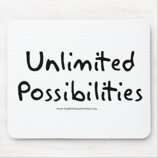 Posibilidades ilimitadas mousepads