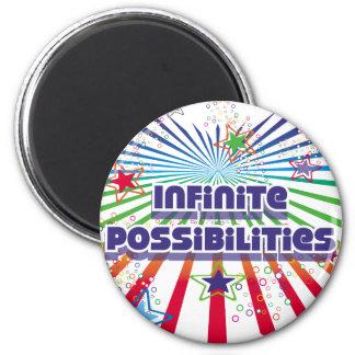 Posibilidades infinitas imán de frigorífico