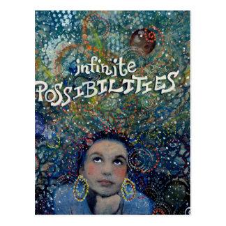Posibilidades infinitas postal