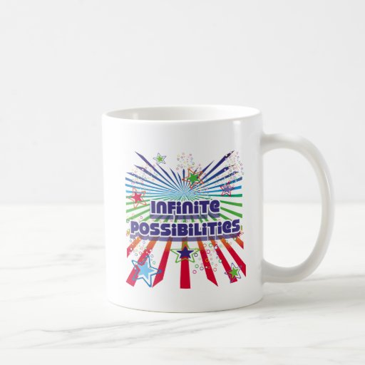 Posibilidades infinitas tazas de café