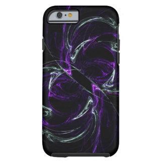 Posibilidades - púrpura y Amethyst cósmicos Funda De iPhone 6 Tough