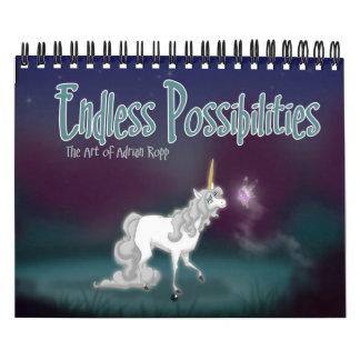 """""""Posibilidades sin fin"""" 2009 Calendario"""
