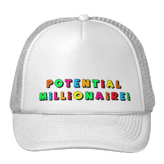 ¡Posibles millonario/Millionairess! Gorra