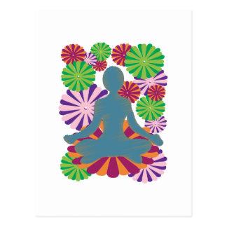 Posición de la yoga postal