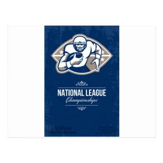 Posición del campeonato de la liga nacional del fú postal