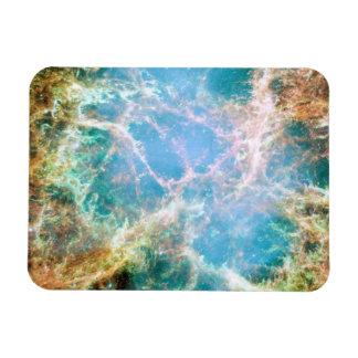 Posición el remanente de la supernova en nebulosa imán de vinilo