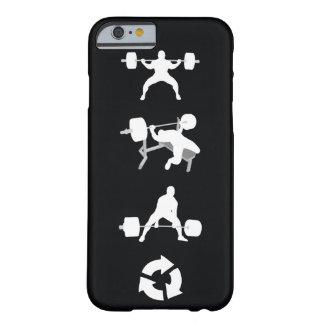 Posición en cuclillas, prensa de banco, Deadlift, Funda Para iPhone 6 Barely There