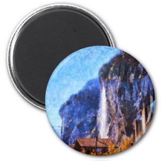 Posición ventajosa para la visión imán redondo 5 cm