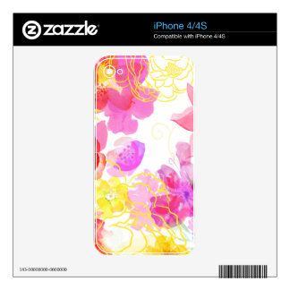Posie Cluster iPhone 4S Decal