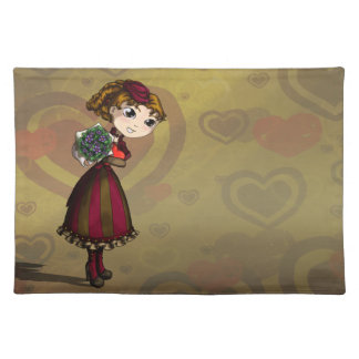 Posies and Chocolates Cloth Placemat