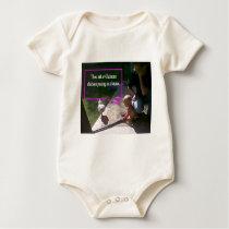 Posing as a knave baby bodysuit