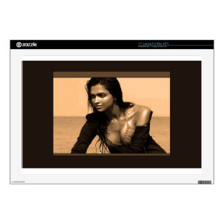 "Posing Confident Expressions by Deepaka Bollywood 17"" Laptop Decal"