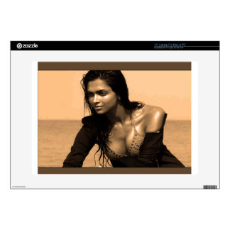 Posing confident Indian Bollywood  beauty deepika Skin For Laptop