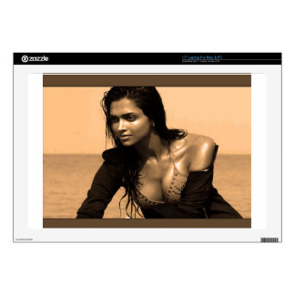 "Posing confident Indian Bollywood  beauty deepika Skins For 17"" Laptops"