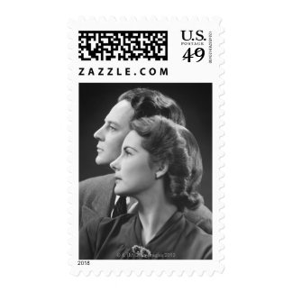 Posing Couple Stamps