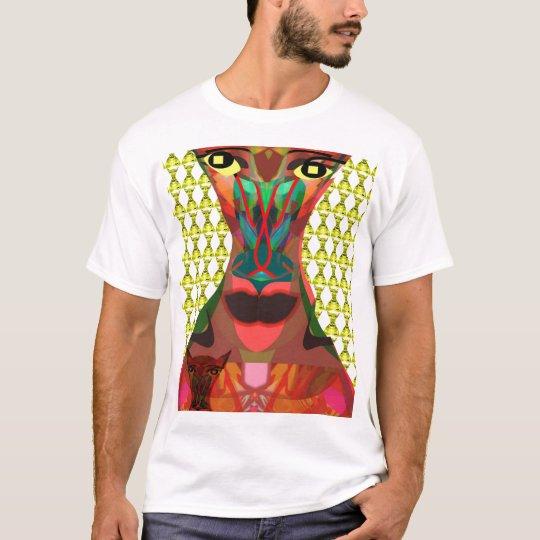 Posing for love surreal fun portrait detail T-Shirt