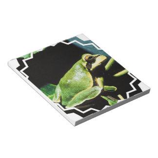 Posing Frog Notepad