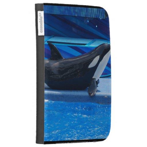 Posing Orca Kindle Case
