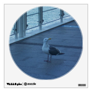 Posing Seagull Wall Decals