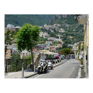 Positano 2015 calendar postcard
