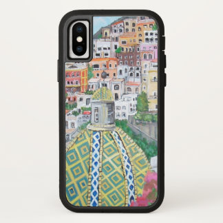 Positano, Apple iPhone X, Barely There Phone Case