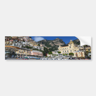 Positano Beach Bumper Sticker