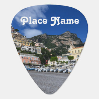 Positano Beach Guitar Pick