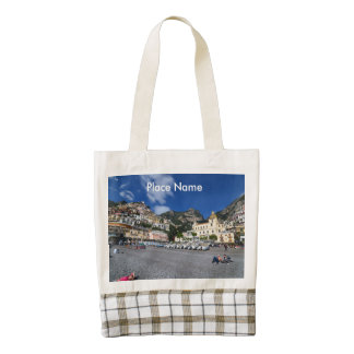 Positano Beach Zazzle HEART Tote Bag