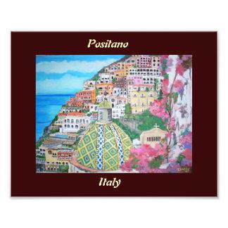 Positano, Italia - impresión de la foto