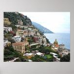 Positano, Italia - impresión de la fotografía