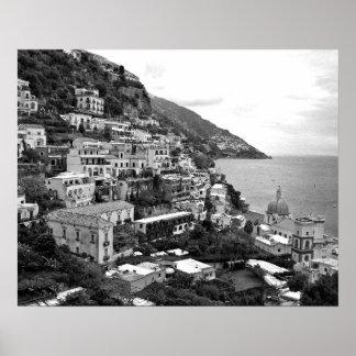 Positano, Italia - impresión de la fotografía - B& Poster
