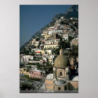 Positano, Italia Poster