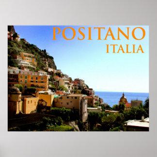 positano Italia Posters