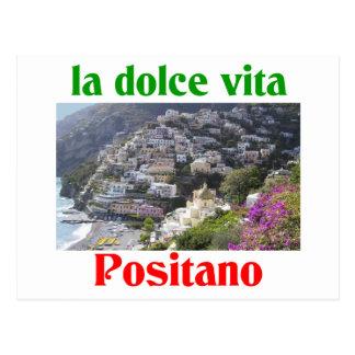 Positano Italia Tarjeta Postal