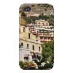 Positano, Italia - visión desde la playa iPhone 4/4S Carcasas