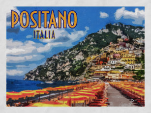 Image result for Positano antique posters