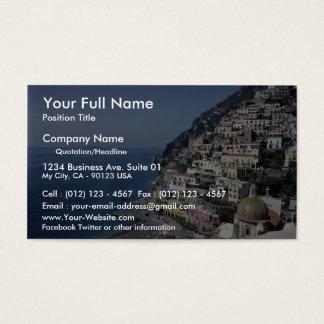 Positano, Italy Business Card